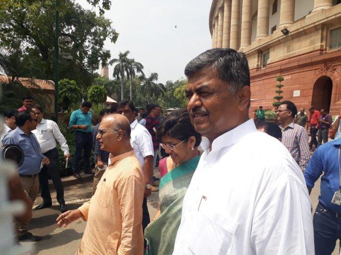 Congress MP B K Hariprasad. (DH Photo)