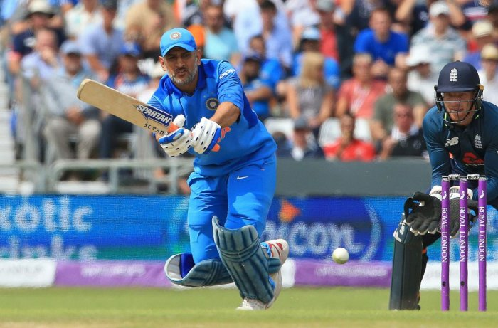 TOUGH TIMES: India's Mahendra Singh Dhoni struggled in the just concluded ODI series against England. AFP