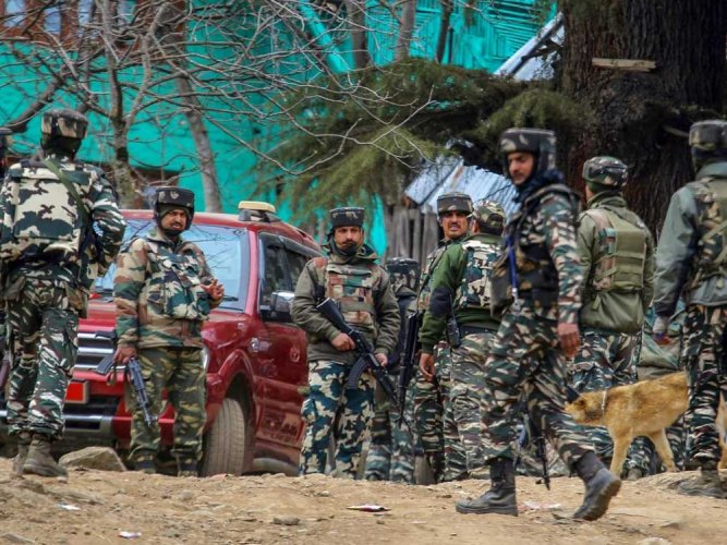 An army commando was killed and another injured in the operation which was launched in the forest area. PTI file photo for representation,