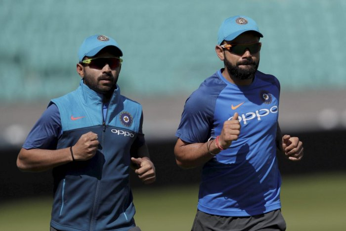 Ajinkya Rahane (left) is expected to be given the reins of captaincy, with Virat Kohli deciding to skip the Test against Afghanistan. AP/ PTI
