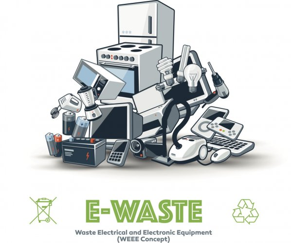 Maharashtra contributes the largest e-waste of 19.8% but recycles only about 47,810 tonnes per annum. (Pic for representation only)