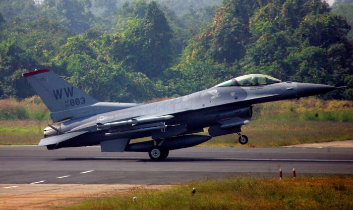 """Eyeing India's lucrative defence market, the American aerospace major said F-16 production would place India at the centre of the world's largest fighter aircraft ecosystem, creating """"unmatched"""" Make in India opportunities and export potential. (Reuters file photo)"""