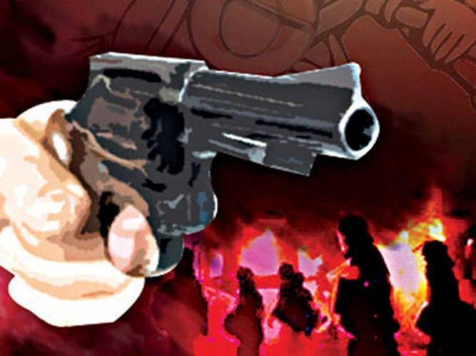 Fayaz Ahmad Shah was shot dead by terrorists near his home at Awgam, a police official said. DH illustration