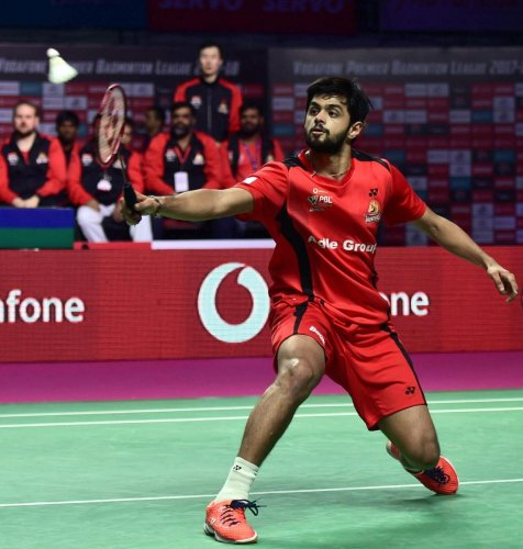 B Sai Praneeth was the only winner for India in their Thomas Cup clash against France on Sunday in Bangkok. PTI FILE PHOTO