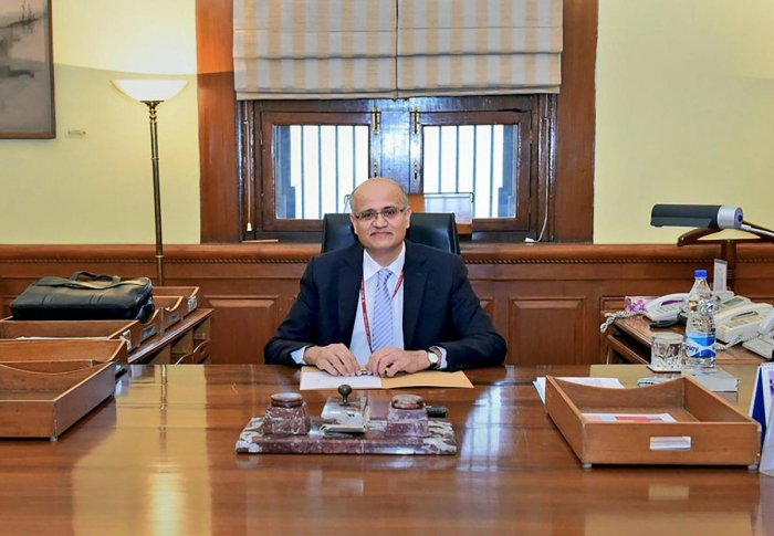 Foreign Secretary Vijay Gokhale. PTI photo.