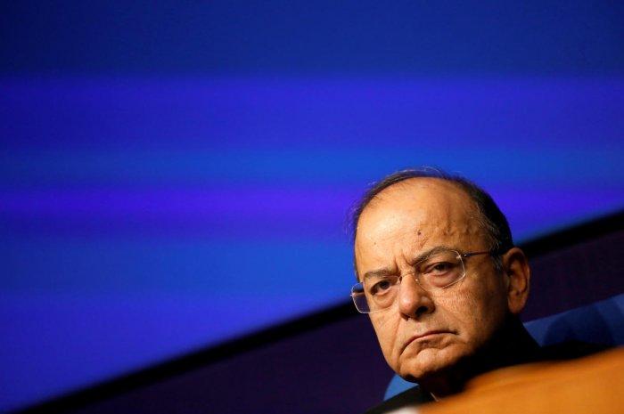 Arun Jaitley. Reuters file photo