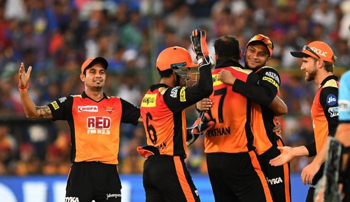 The in-form Sunrisers Hyderabad will be hard to stop for Delhi Daredevils. AFP