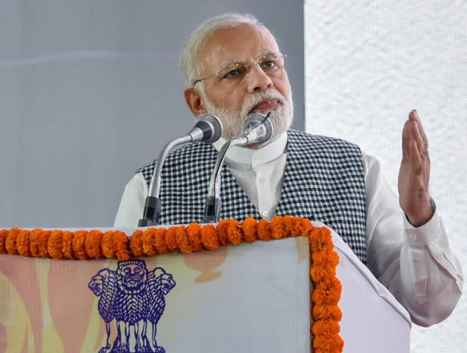 Prime Minister Narendra Modi today hit out at those accusing him of working for the rich, saying they should answer if moneyed people lived in the 18,000 villages where his government has provided power for the first time since Independence. PTI file phot