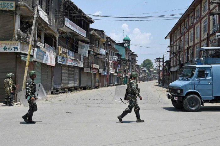 Restrictions, under Section 144 of the CrPc, were imposed by authorities in five police station areas of the summer capital, the official said. PTI Image for Representation