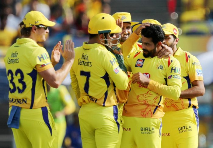 FIRING AS A UNIT Chennai Super Kings have had a good run in the IPL thanks to different players standing up when needed. PTI