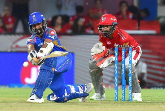 Rajasthan Royals' captain Ajinkya Rahane said batting has let his team down this season. PTI