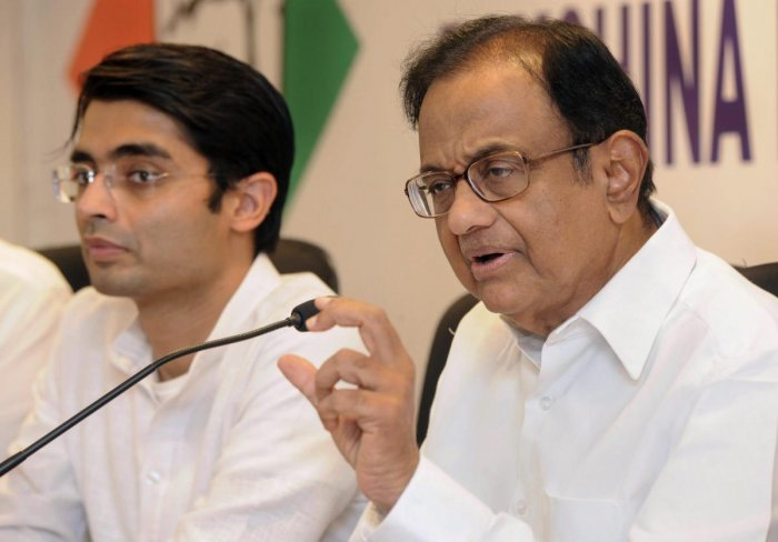Congress leader P Chidambaram today took a swipe at Jammu and Kashmir Chief Minister Mehbooba Mufti asking her why she is continuing with a 'farce' of a coalition government when whatever 'she proposes, her deputy disposes'. PTI file photo