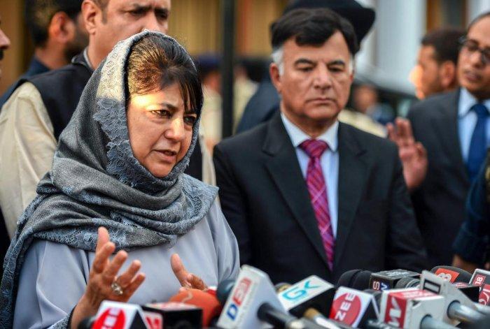 Jammu and Kashmir Chief Minister Mehbooba Mufti. PTI Photo