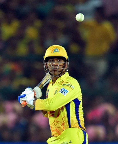 M S Dhoni will be keen to bring another IPL title to Chennai Super Kings' collection. PTI