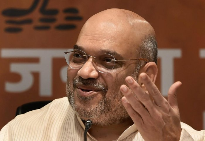 BJP president Amit Shah on Friday said the Modi government's welfare schemes in its four years have benefitted 22 crore poor families and set an example of how a pro-people dispensation is run.