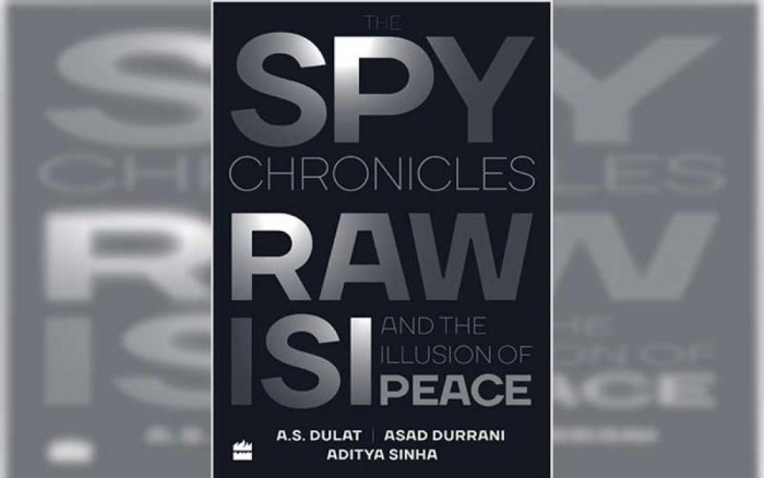 Lieutenant General (retd) Durrani, who headed the Inter-Services Intelligence (ISI) agency from August 1990 till March 1992, along with Dulat has written 'The Spy Chronicles: RAW, ISI and the Illusion of Peace'. The book was released on Wednesday.