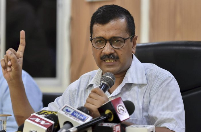 He said cleaning of drains before the monsoon, setting up of mohalla clinics and measures to curb air pollution in Delhi are stuck because of the alleged strike by the IAS officers. (PTI file photo)