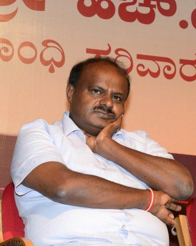 Chief Minister H D Kumaraswamy.