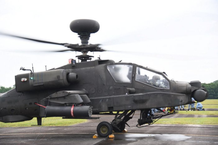 Boeing and Indian partner Tata have begun to produce Apache fuselages at a plant in India, but today's approval concerns a direct sale of finished products from US manufacturers. (Reuters file photo)