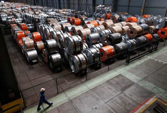 Steel products, Reuters file photo