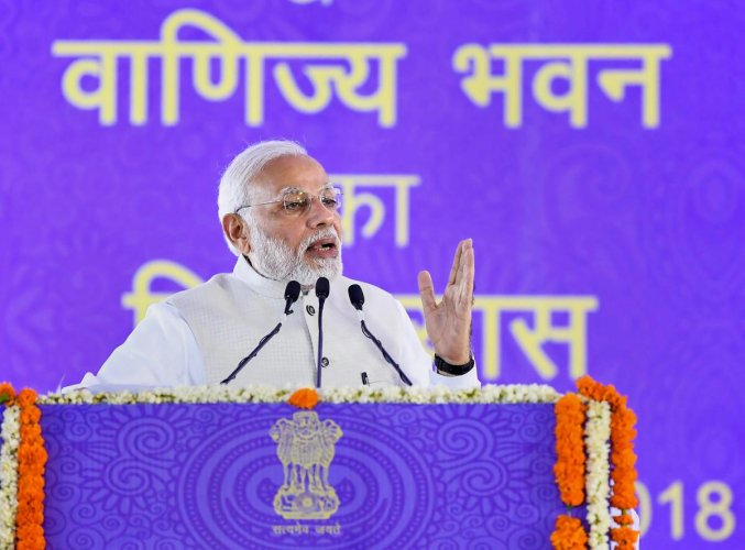 Modi will dedicate the Mohanpura Irrigation Project in Rajgarh district to the people of the state and also inaugurate several other projects. (PTI file photo)