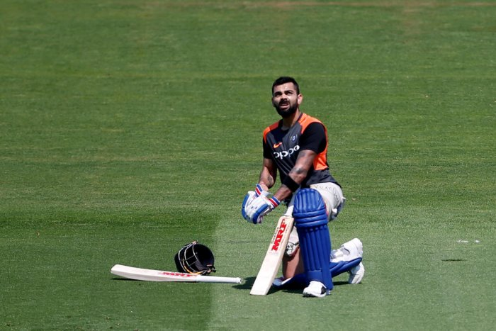 With cricket's blue riband tournament scheduled to be held in UK next year, the ODI series will give Virat Kohli an ideal opportunity to get a drift about the conditions that his men are expected to encounter at exactly same time next year. (Reuters file photo)