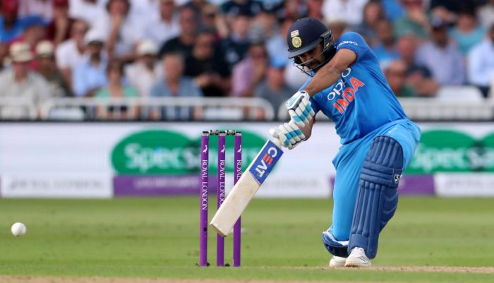 Red-Hot: Opener Rohit Sharma's form augurs well for India ahead of the second ODI against England at Lord's. Reuters
