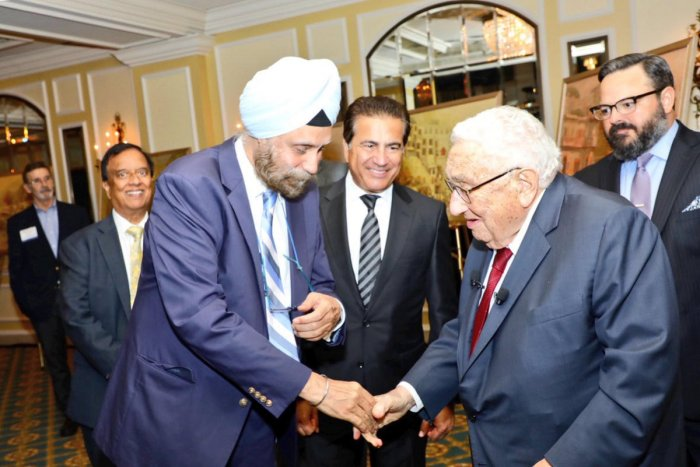 The US and India have complementary interests, former US secretary of state Henry Kissinger has said even as he expressed admiration for New Delhi's strategic policy. Photo: Twitter