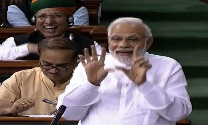 The government got the support of 325 members, while 126 backed the motion with 451 MPs present in the House. (PTI Photo)