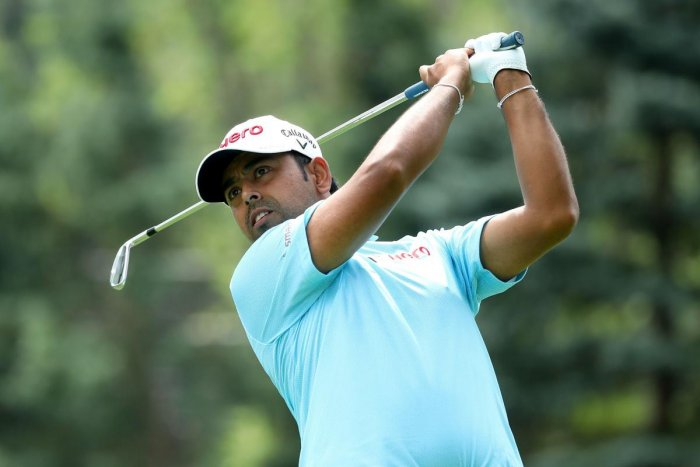 Anirban Lahiri brought up his best ever show in WGC-Bridgestone at Tied-6th. AFP