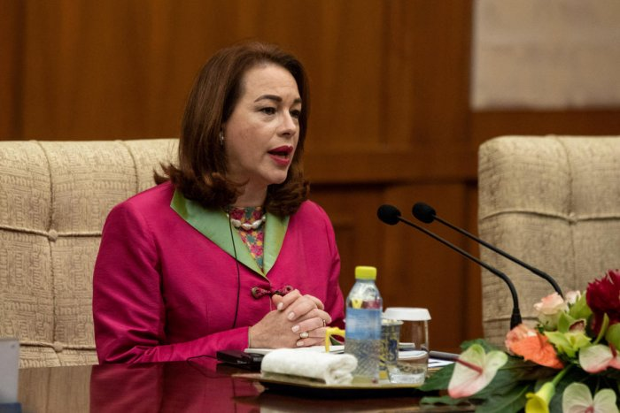 Maria Fernanda Espinosa Garces, United Nations (UN) General Assembly president-elect visits China. Reuters file photo