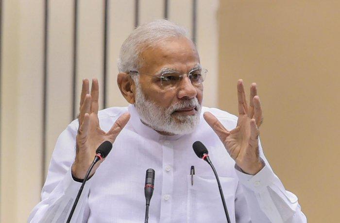 Prime Minister Narendra Modi. PTI file photo