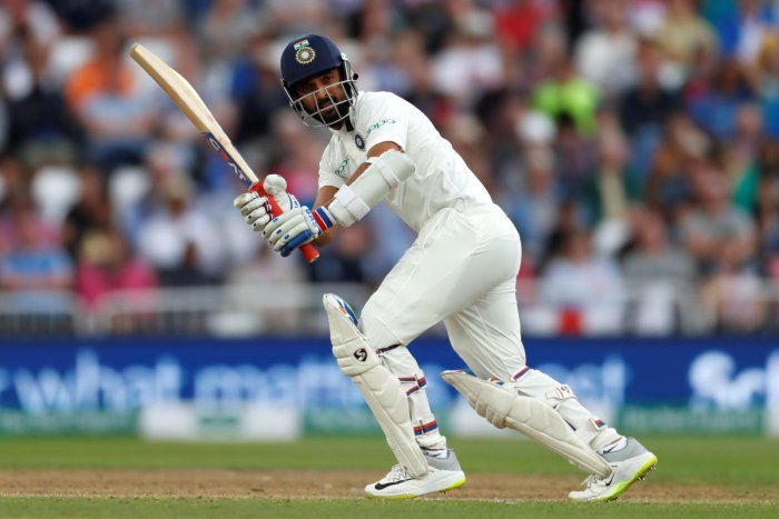 India's Cheteshwar Pujara in action batting Action Images. Reuters photo