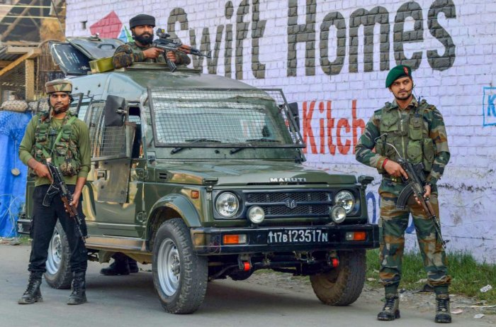 In retaliatory action, one militant was killed, the spokesman said. PTI File photo