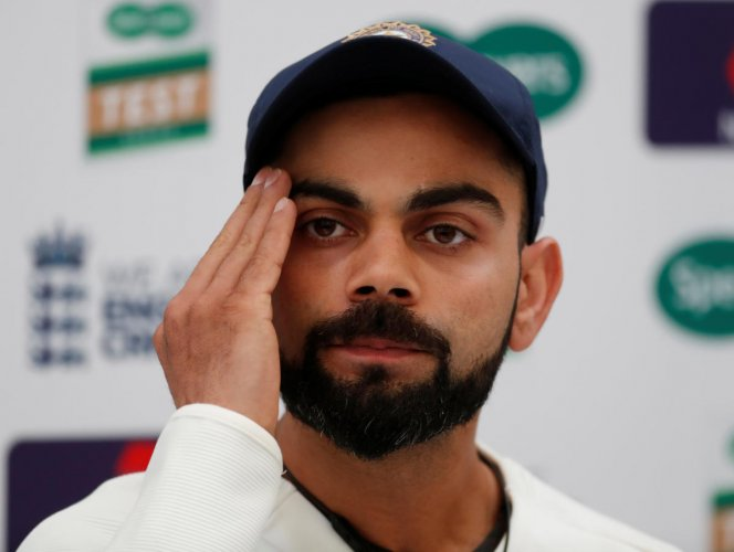 For the first time since he became captain, Virat Kohli has fielded the same XI in two consecutive Tests. REUTERS