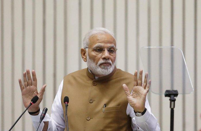 Prime Minister Narendra Modi. Reuters file photo