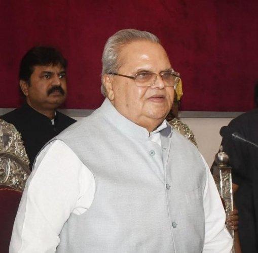 Jammu & Kashmir Governor Satya Pal Malik.