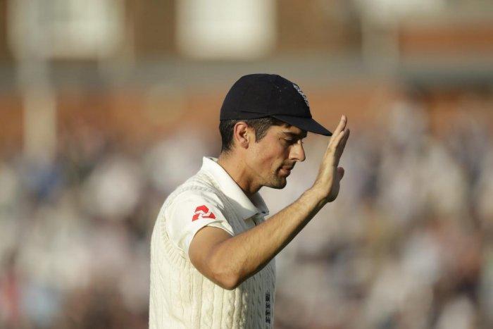 England's Alastair Cook. AP/PTI photo