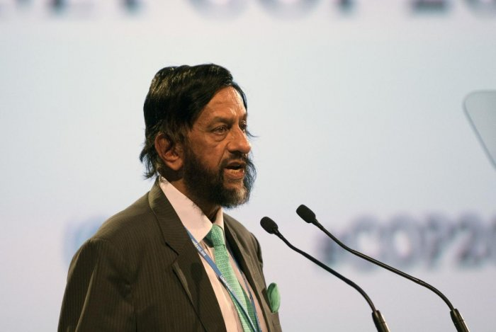 Indian former UN climate panel chief Rajendra Pachauri. AFP