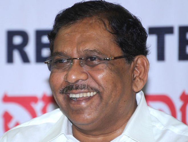 Parameshwara is the longest-serving KPCC president. DH file photo