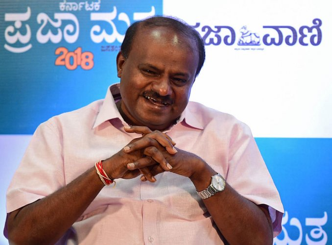 In picture: Chief Minister H D Kumaraswamy. DH photo.