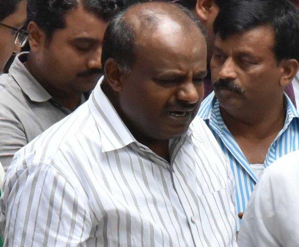 Chief Minister H D Kumaraswamy. DH file photo