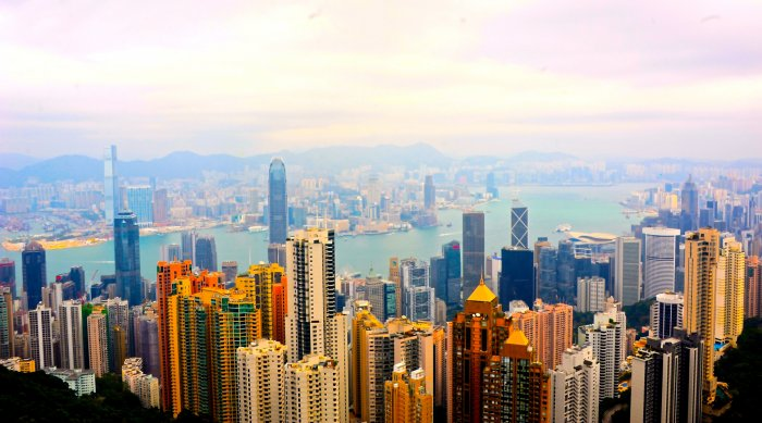 Hong Kong's key feature is its skyline