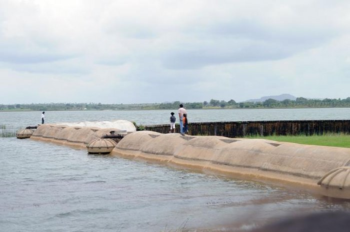 Markonahalli Dam is an interesting place to visit near Nagamangala. Photo by N S Ajay Kumara