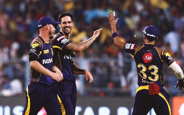 Australia's Mitchell Johnson said he experienced back problems during this year's IPL. AFP