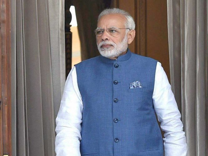 Prime Minister Narendra Modi set to unveil a five-year roadmap of development for tribal communities on Tuesday in Madhya Pradesh that goes to polls this year-end. PTI File Photo