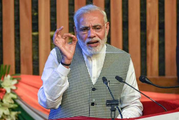Modi said those working for the cleanliness campaign would be remembered like freedom fighters in the times to come and would be known as true heirs to Gandhi. (PTI File Photo)