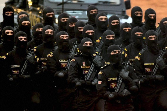 The NSG was raised in 1984 in the aftermath of Operation Blue Star, which was carried out to flush out terrorists hiding in the Golden Temple in Punjab's Amritsar city.  PTI file photo