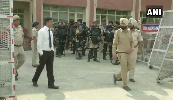 The Punjab authorities have made elaborate security arrangements to ensure smooth trial in the case. (ANI Photo)