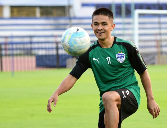 India will open their campaign against Chinese Taipei in the Intercontinental Cup on June 1. DH Photo